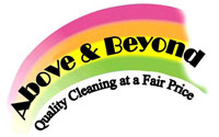 Above & Beyond - Quality Cleaning at a Fair Price